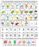 *Spanish Version* Home Folder Learning - Alphabet, Numbers 1-20, 3D Shapes