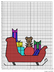 """""""Special Delivery"""" Christmas Coordinate Graphing Mystery Picture"""