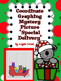 """Special Delivery"" Christmas Coordinate Graphing Mystery Picture"