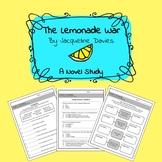 The Lemonade War Novel Study Complete Bundle