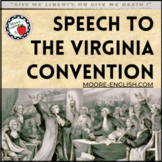 """Speech at the Virginia Convention"" Questions, Prompts, and SOAPSTone Analysis"