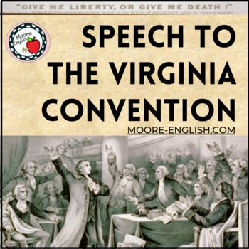"""""""Speech at the Virginia Convention"""" Questions, Prompts, and SOAPSTone Analysis"""