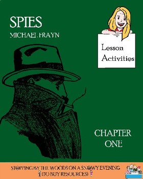 'Spies' - Michael Frayn. Chapter 1 - 'Role on the Wall' exercise