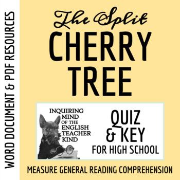 """""""Split Cherry Tree"""" by Jesse Stuart - Quiz & Key"""