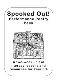 'Spooked Out!' Poetry Planning for Years 3 and 4 (2nd/3rd Grade)