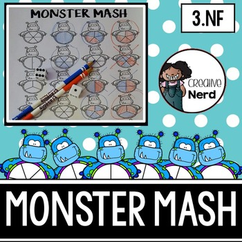 Monster Mash! (A strategy game for equivalent Fractions) - Math Dollar Deals