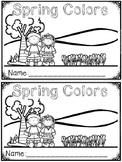 """""""Spring Colors"""" (A Spring Emergent Reader Dollar Deal)"""