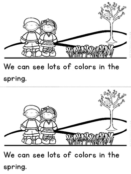 """Spring Colors"" (A Spring Emergent Reader Dollar Deal)"