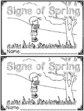 """Signs of Spring"" (A Spring Emergent Reader Dollar Deal)"