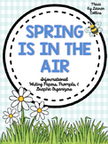 """Spring Is In the Air"" Informational Writing Papers & Prompts"