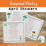 Poetry: Spring | Fluency Practice Poems Reader's Theater L