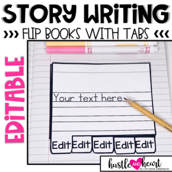 Interactive Writing Notebook - 5 Tab File Folder Style