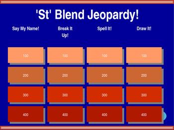 St Blend Jeopardy
