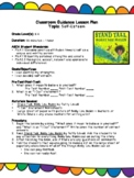 """Stand Tall, Molly Lou Melon"" Lesson Plan and Worksheet"