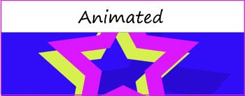 Google Classroom Animated Theme (Star)