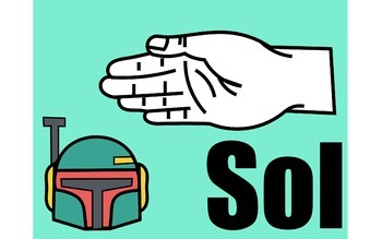 """Star Wars"" Curwen Solfege Handsigns"