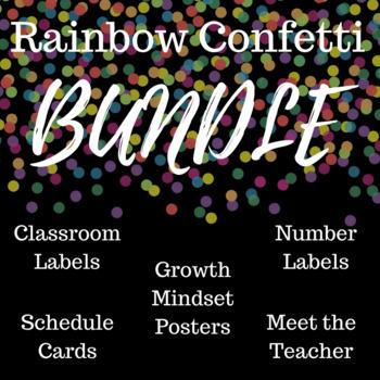 #StartFreshBTS Rainbow Confetti Bundle (5 for 5!)