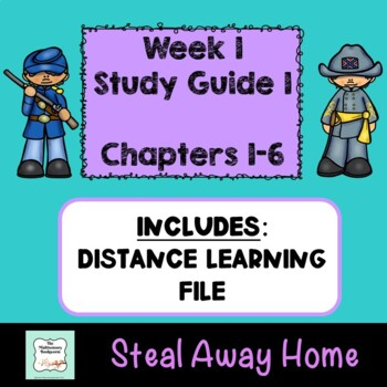 """""""Steal Away Home"""" By Lois Ruby (Study Guide) Chapters 1-6"""