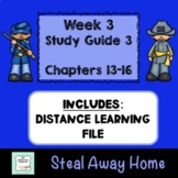 """""""Steal Away Home"""" By Lois Ruby (Study Guide) Chapters 13-16"""