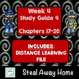 """""""Steal Away Home"""" By Lois Ruby (Study Guide) Chapters 17-20"""