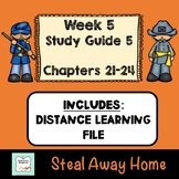 """""""Steal Away Home"""" By Lois Ruby (Study Guide) Chapters 21-24"""
