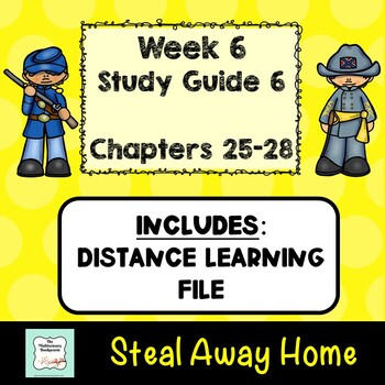 """Steal away home"""" by lois ruby (study guide) chapters 21-24 