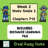 """""""Steal Away Home"""" By Lois Ruby (Study Guide) Chapters 7-12"""