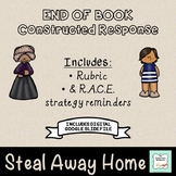 """""""Steal Away Home"""" Constructed Response (with rubric) END OF BOOK"""