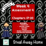 """""""Steal Away Home"""" by Lois Ruby Assessment 4: Chapters 17-20"""