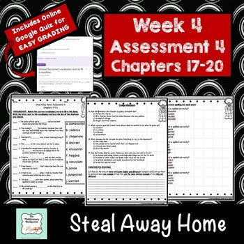 """Steal Away Home"" by Lois Ruby Assessment 4: Chapters 17-20"