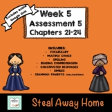 """""""Steal Away Home"""" by Lois Ruby Assessment 5: Chapters 21-24"""
