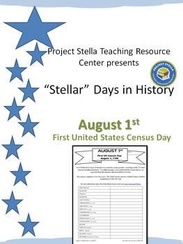 """""""Stellar Days in History"""" August 1st"""