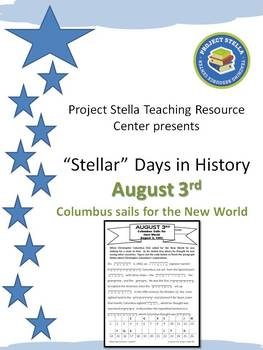 """""""Stellar Days in History"""" - August 3"""