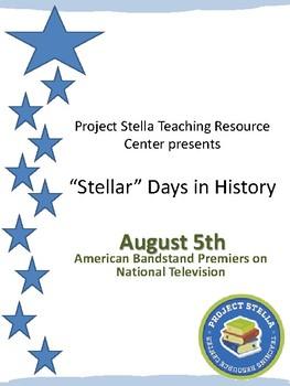 """Stellar Days in History"" August 5th"