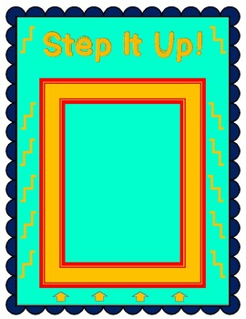 """""""Step It Up!"""" - the Math Fact Review Game Where You Can Stand on Your Desk!"""
