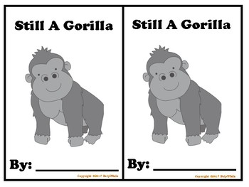 'Still A Gorilla' Book Supplement Bundle