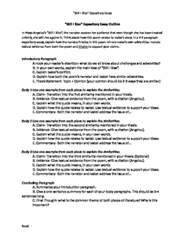 Still I Rise By Maya Angelou Essay Activity By Danielle Reed  Tpt Still I Rise By Maya Angelou Essay Activity  How To Write A Proposal For An Essay also Essay Thesis Statement Example  Model Essay English