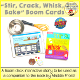 """Stir, Crack, Whisk, Bake"" Companion Boom Cards for Distan"