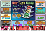 """""""Stop, Think, Choose"""" Support Song Videos with KARAOKE VERSIONS"""