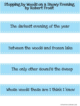 Frost the figure a poem makes pdf