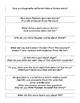 """Storm"" by Gary Paulsen - Discussion Question Prompts and Recording Sheet"