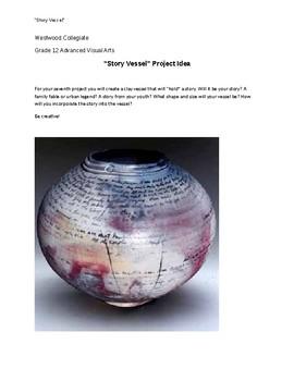 """Story Vessel"" Art Idea Prompt"