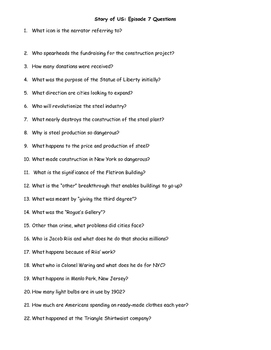 """""""Story of US"""" Movie Questions - Episodes 1-12 [Bundle]"""