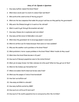 """""""Story of US"""" Movie Questions - Episodes 6-12 [Bundle]"""