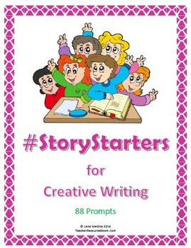 #StoryStarters for Creative Writing Pack