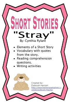 """Stray"" by Cynthia Rylant"