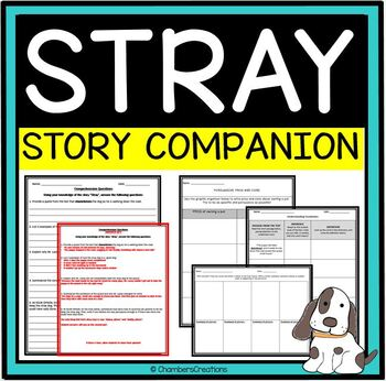 """""""Stray"""" by Cynthia Rylant-- Activity Pack"""