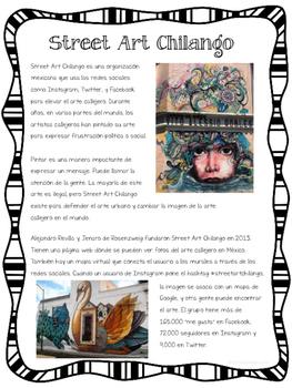 """Street Art Chilango"" Reading Pack"