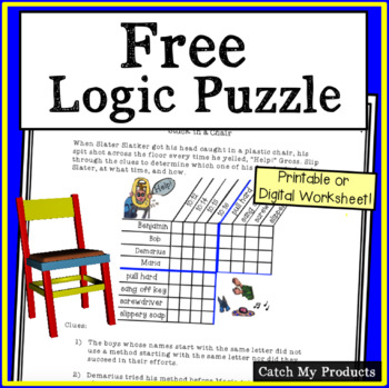 Logic Puzzle to Challenge Gifted and Talented or Bright Ki