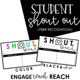 *Student Shoutouts* - Create a sense of community!